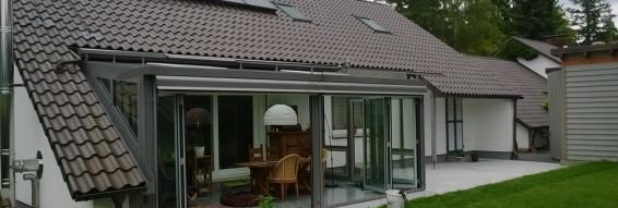 Bauvorhaben Wohnhaus in Celle, Wintergarten